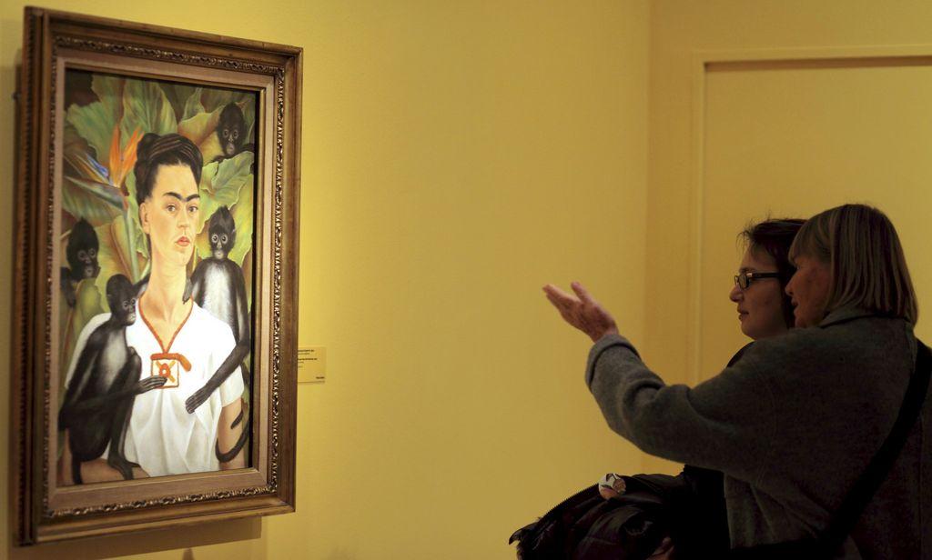 Exposición Kahlo-Rivera rompe récord de asistencia en París