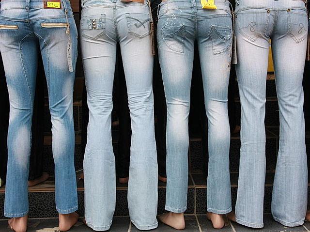 Jeans a la moda para todas las figuras