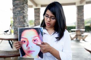 Latina acusa de brutalidad a Patrulla de Carreteras de CA