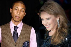 Pharrell Williams hizo llorar a Kylie Minogue