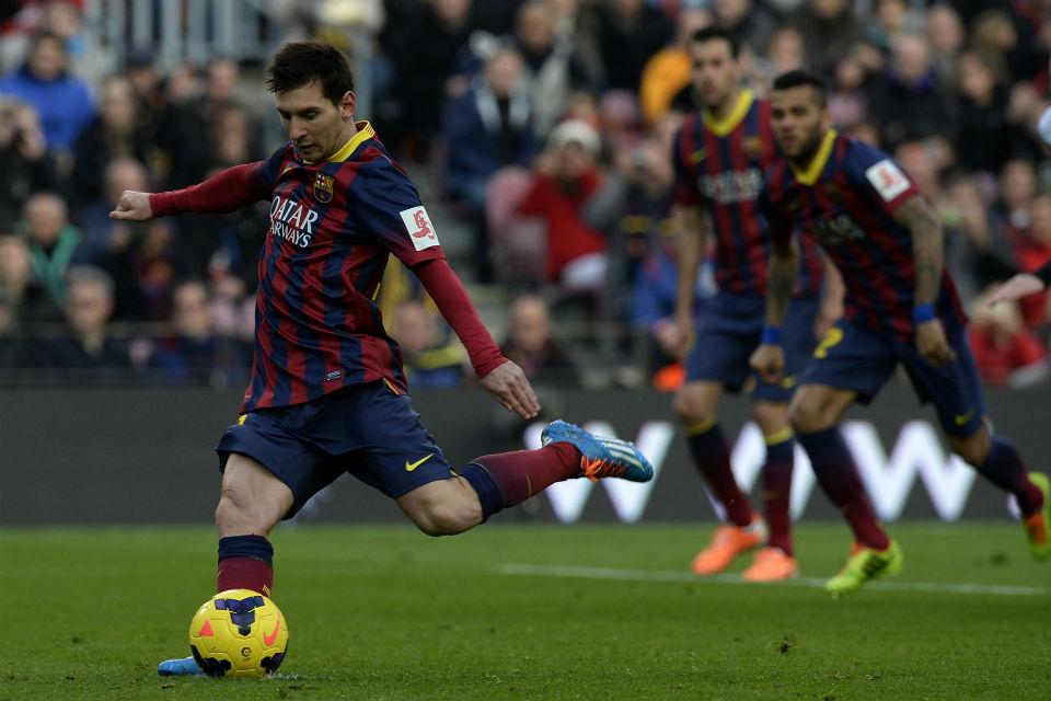 Messi cortó sequía de goles con polémico penal (Video)