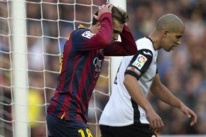 Sufre Barcelona:Bajón de la cima