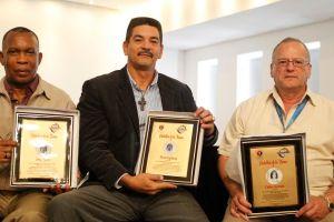 Alfaro, Espinoza y Quintana fueron inmortalizados por Guaynabo