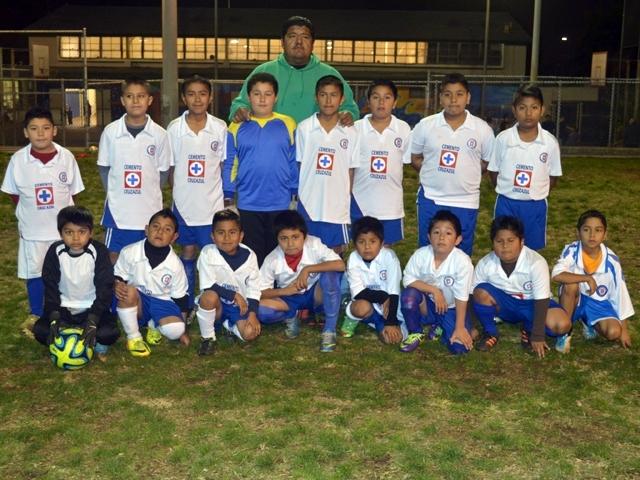Cruz Azul Wabash con la meta del fútbol integral