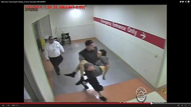 LAPD busca al buen samaritano que salvó a un hombre