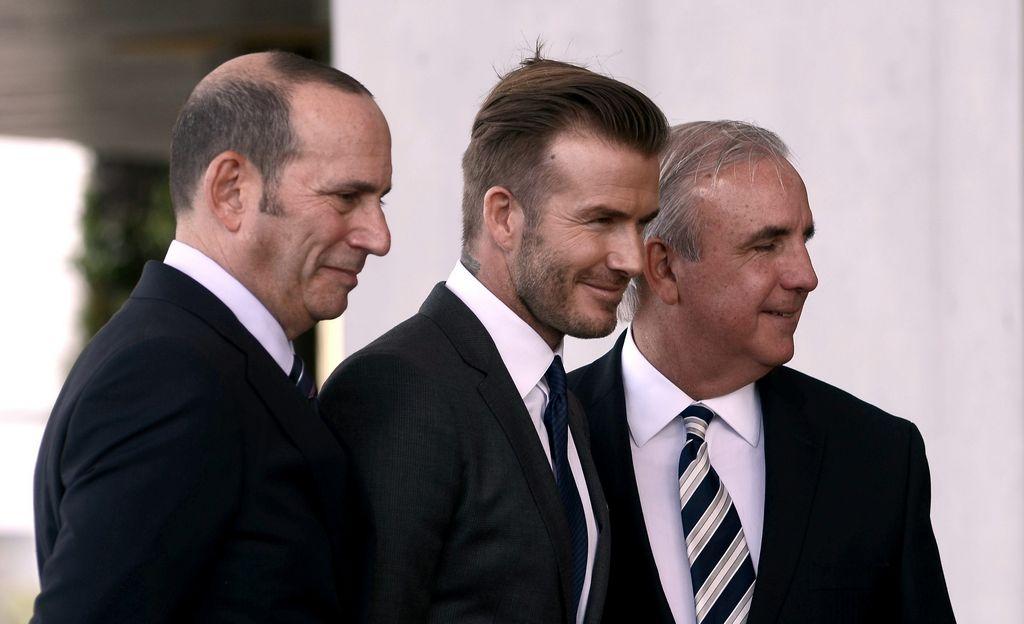 Beckham, un galáctico que nació para ganar