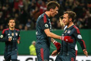 El Bayern de Guardiola también se pasea en la Copa