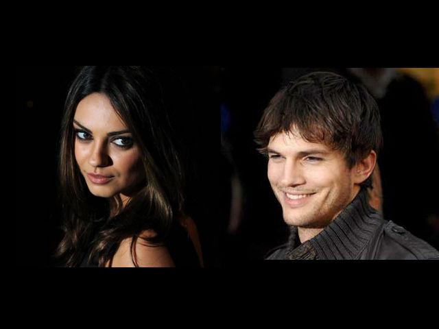 Mila Kunis sorprendió a Ashton Kutcher con una cena especial