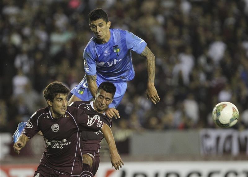 Lanús y O'Higgins pasaron en blanco en su debut en Libertadores