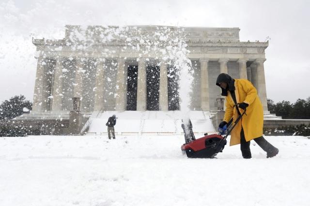 Washington paralizado… por la nieve