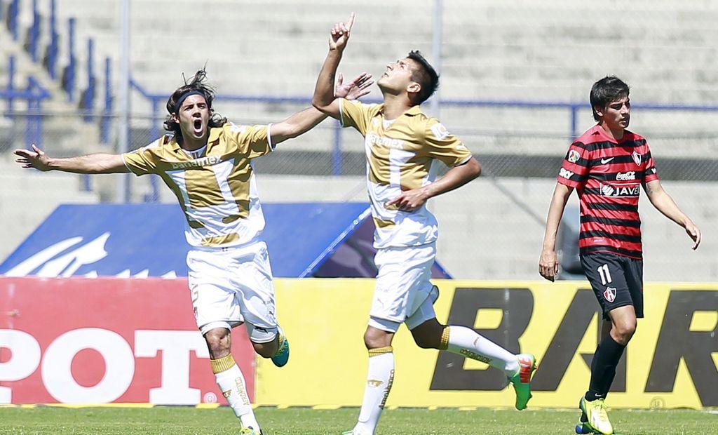 Pumas y Atlas ligan quinto empate en choque directo