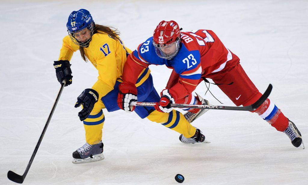 Canadá, Suiza, EEUU y Suecia, por la gloria en el hockey femenino
