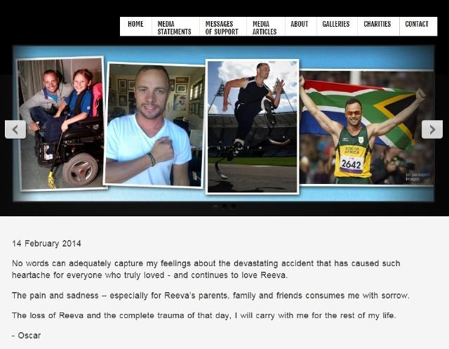 Pistorius pone fin a un largo silencio