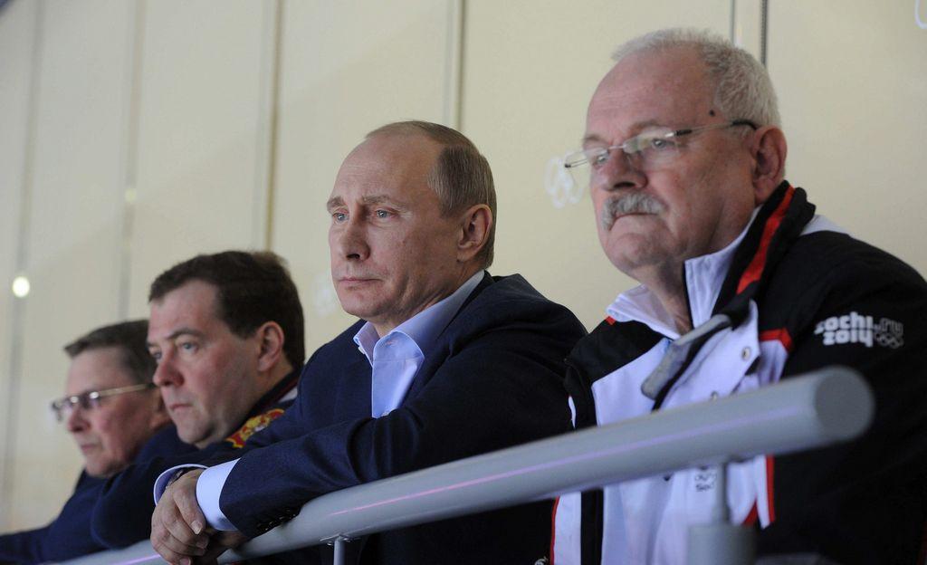 Putin critica al árbitro que anuló un gol a Rusia en hockey