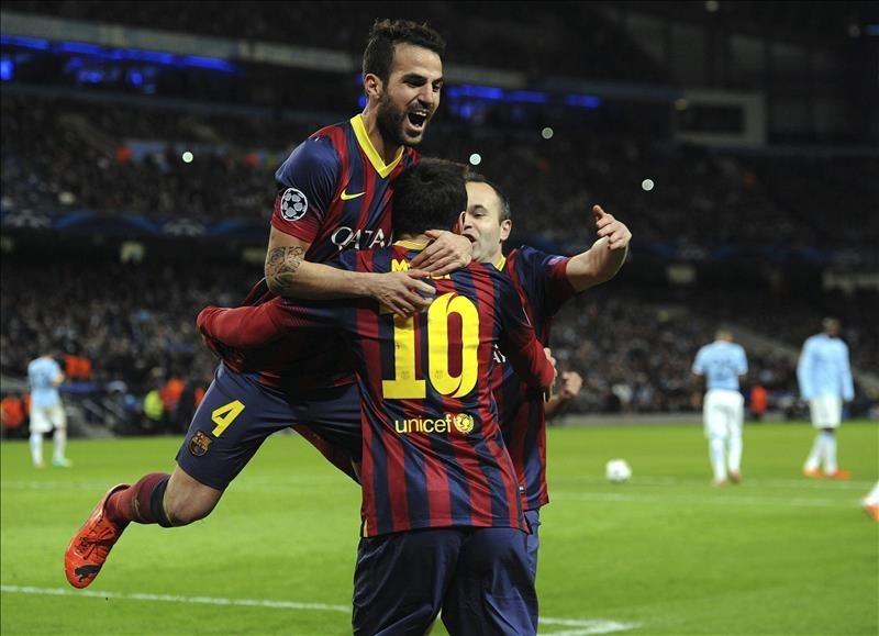 Barcelona de visita domina al City en la Champions (VIDEO)