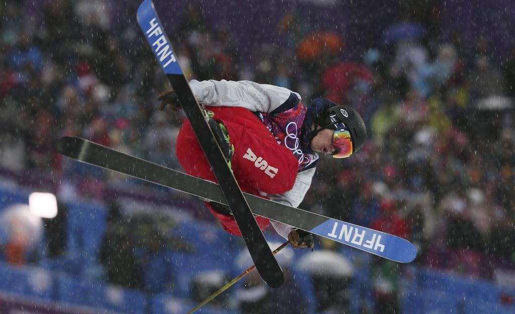 David Wise da oro a Estados Unidos en esquí halfpipe de Sochi