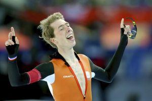 Bergsma sorprende en nuevo triplete holandés en patinaje