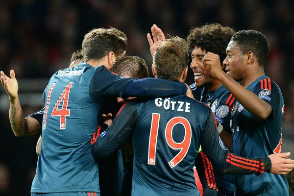 Bayern aventaja 2-0 al Arsenal en la Champions (Video)