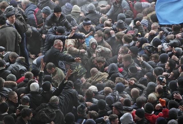 Fuerte tensión en Crimea