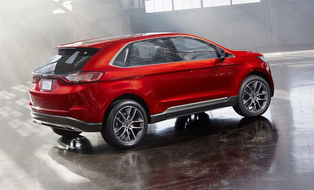 Ford construirá un nuevo vehículo global sobre la base del Edge