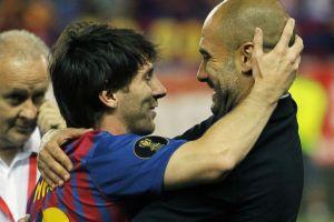 "Guardiola: ""Messi es el mejor jugador de la historia"""