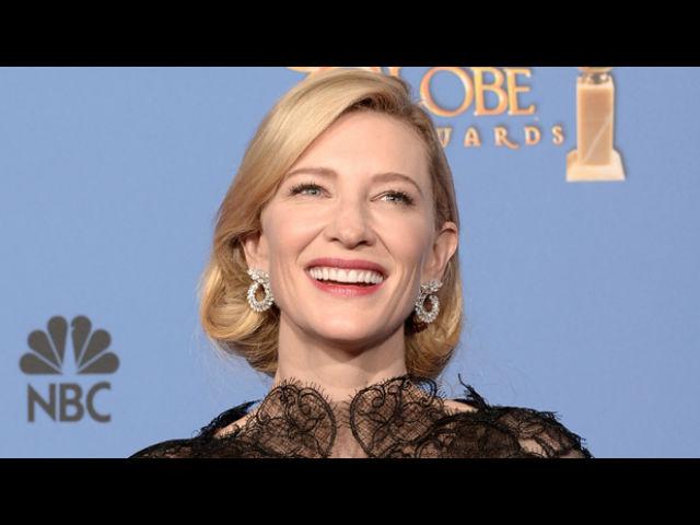 Nerviosa Cate Blanchett por el día de los Oscar