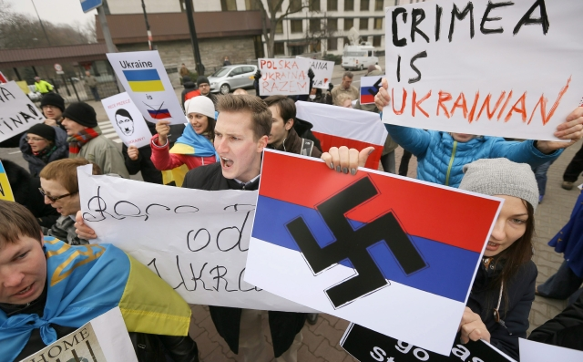 Crimea se rebela