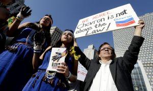 Juez falla a favor de Chevron; ecuatorianos apelarán