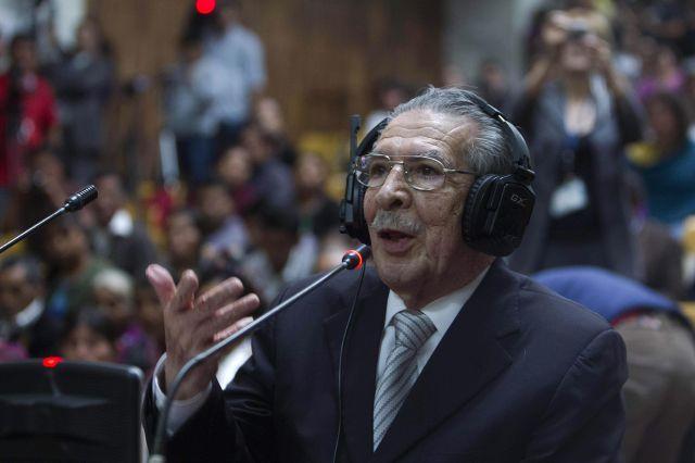 Habla jueza que condenó al exdictator Ríos Montt