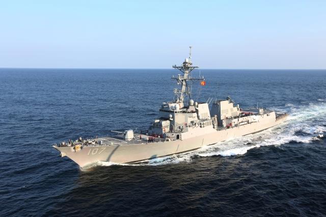 Destructor de EEUU rumbo a Rumania para maniobras militares