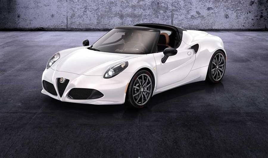 El 4C de Alfa Romeo, ahora descapotable