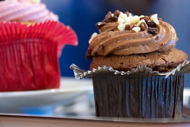 Cupcakes de nutella para chuparse los dedos