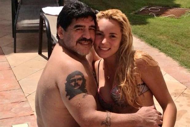 Diego Armando le pidió a Rocío que se volviera a Buenos Aires, dicen que de manera amable.