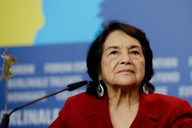 El cambio empieza con el voto: Dolores Huerta