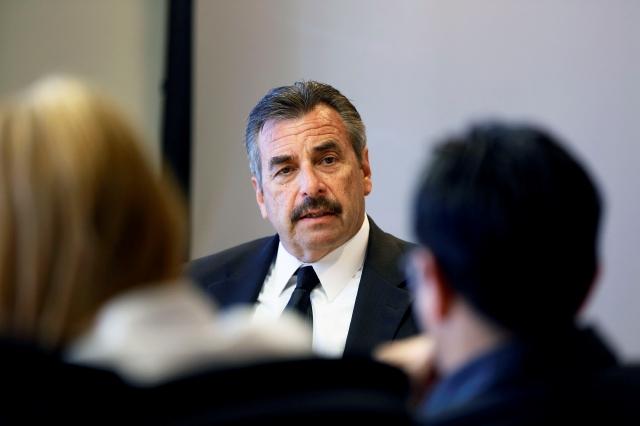 Enfoque del jefe de LAPD es seguridad vial en 2014