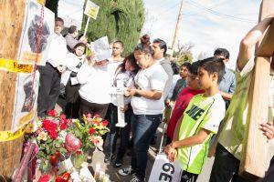 Paz y justicia exigen en East Palo Alto