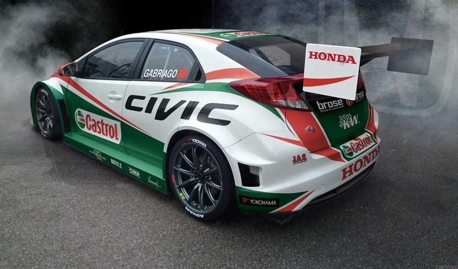 Honda develó su nuevo modelo para el WTCC