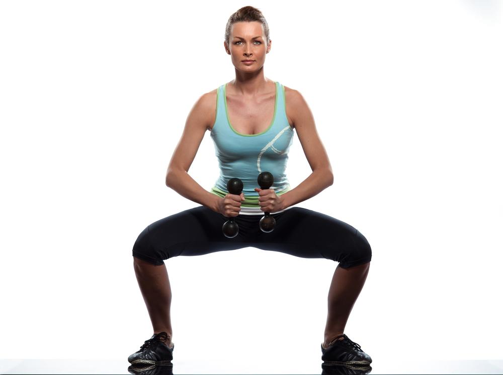 Este  ejercicio es ideal para tonificar piernas y glúteos.
