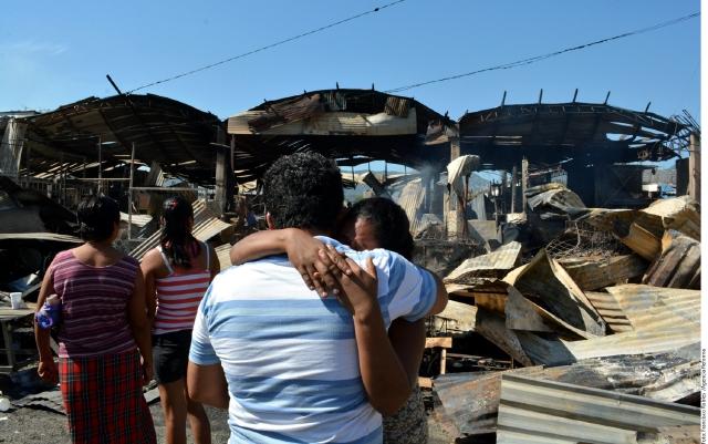 Incendio fatal en Acapulco