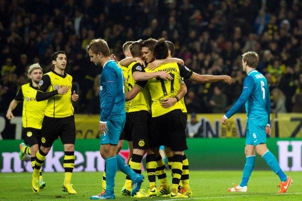 Borussia Dortmund, último invitado a los cuartos de la Champions