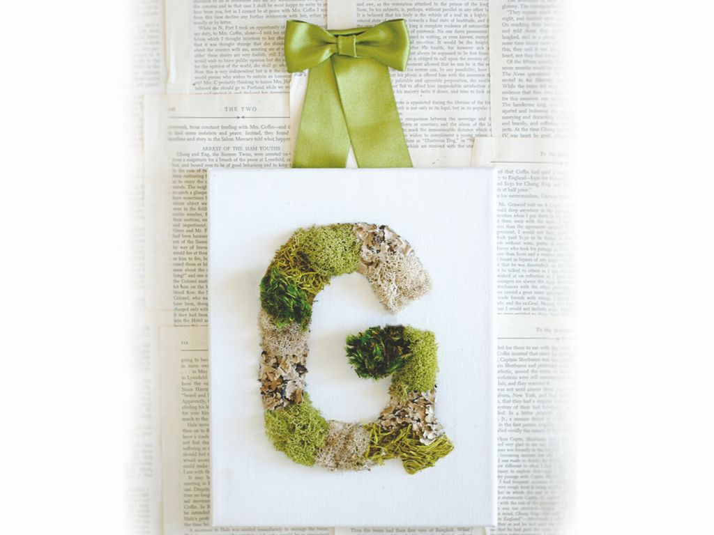 This charming craft takes less than two hours to create.