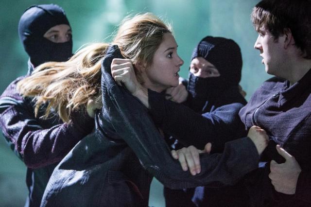 Shailene Woodley y Christian Madsen