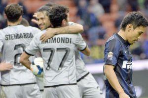 Inter de Milán pierde y deja puestos de copas europeas