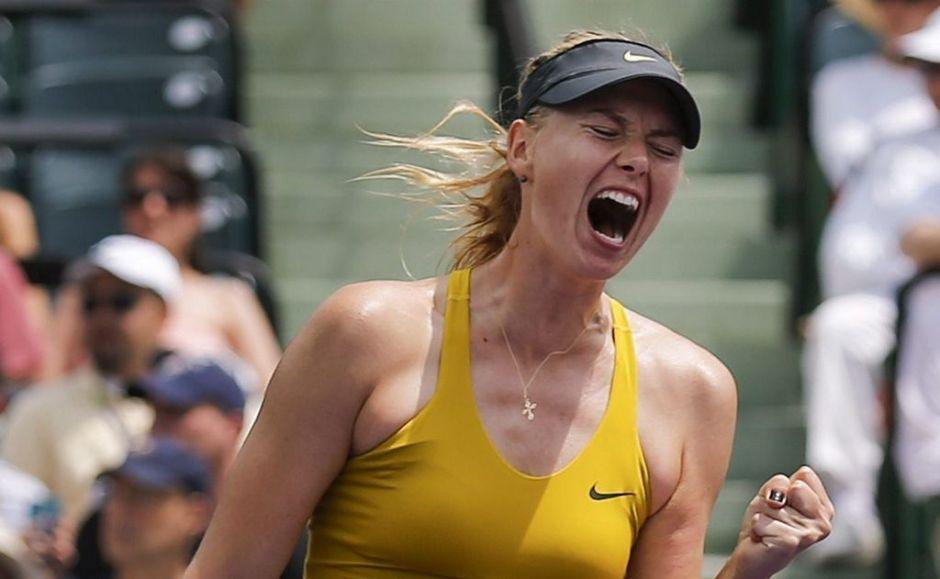 Favoritas Sharapova y Williams avanzan en el WTA Premier de Miami