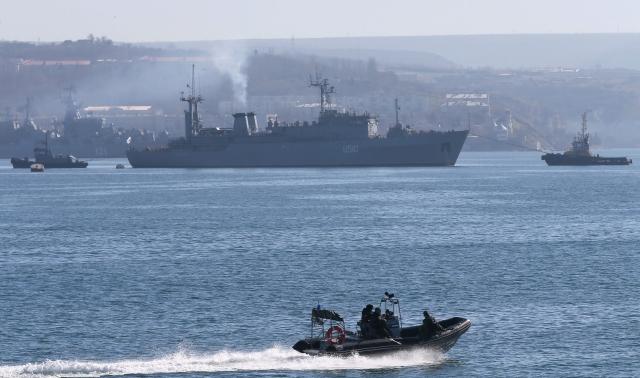 Ucrania pierde su flota