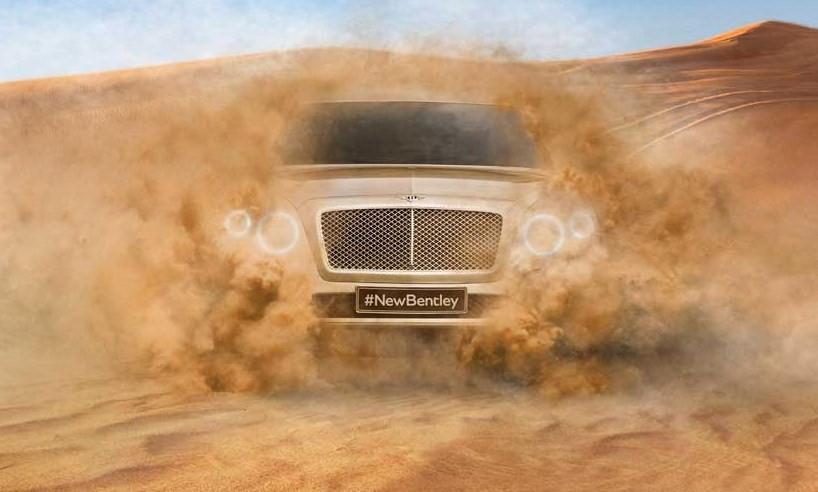 Bentley enseña por primera vez su SUV