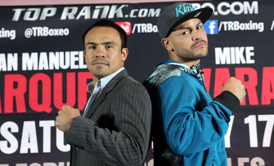 'Dinamita' Márquez y Mike Alvarado anuncian combate en El Forum