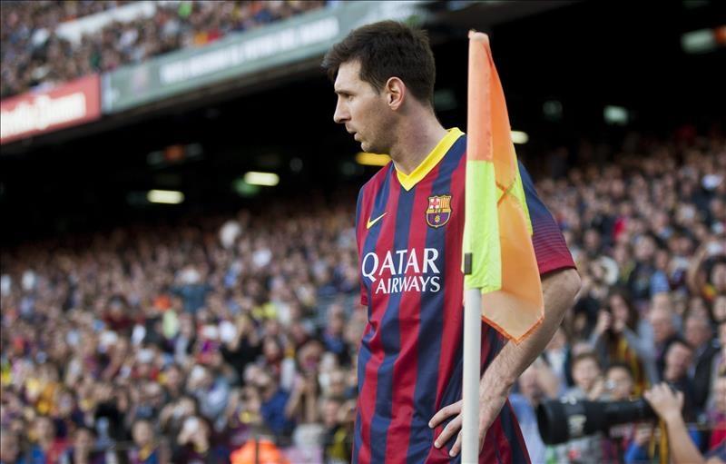 Messi estrena botas para festejar récord de goles como azulgrana