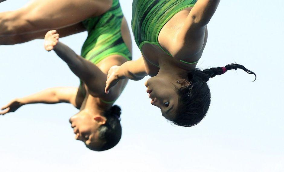 Clavadista Arantxa Chávez ya entrena tras plata y bronce en Mundial