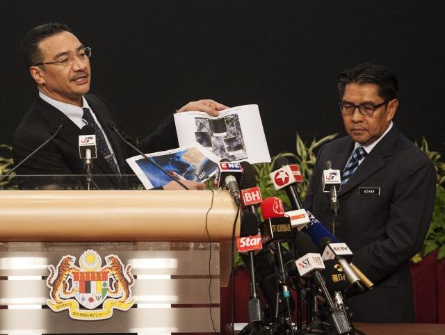Nuevas imágenes que serían de nave malaya
